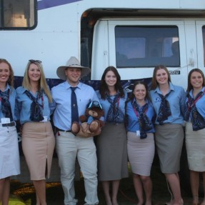 NSW competitors before attending the National Championships Formal Dinner