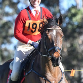Rachael Temm from Forest Hills Pony Club in Zone 23 claimed back-to-back champions in both the Showjumping and Jumping Equitation Championships, making her the Associate Jumping Equitation Age Champion for the fourth consecutive year. Photo: Julie Wi