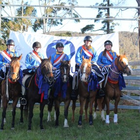 The Zone 22 Associate Team claimed wins in both the Team Sporting and Mounted Games events. Photo: Esther Black Photography
