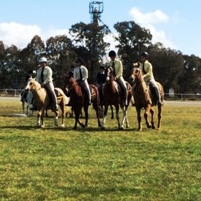 Recent photos of some of our riders competing in a gymkhana.
