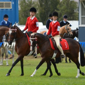 Pair of riders from Zone 23: Lucy Bittendorfer and Alexandra Langthorne at the NSW State Showriding Championships. Photo Courtesy of Xpoze Photography