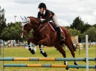 Piper Christley from Berry Pony Club claimed 8th place in Class 3 of the strong 15-17 years Age Group. Photograph courtesy of Michael Lee Photography