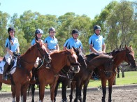 State Camp 2015 Showjumping Team