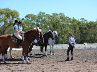 Riders will receive instruction from some of Australia's top coaches in Dressage, Showjumping, Eventing, Mounted Games and Advanced Horsemanship
