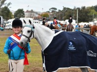 Ella Bourke from Matcham Valley Pony Club in Zone 24 claimed the Age Champion award for Showriding & Dressage in 2016 and will be back to defend her titles this year in Tamworth